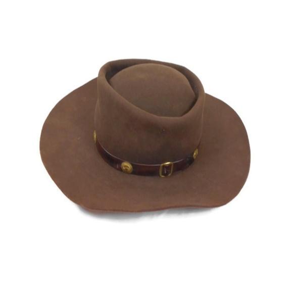 0da4650893f67 Rare Vintage Miller Brothers Western Gambler Hat. M 5beb4f5af63eea5bc4c3afb9